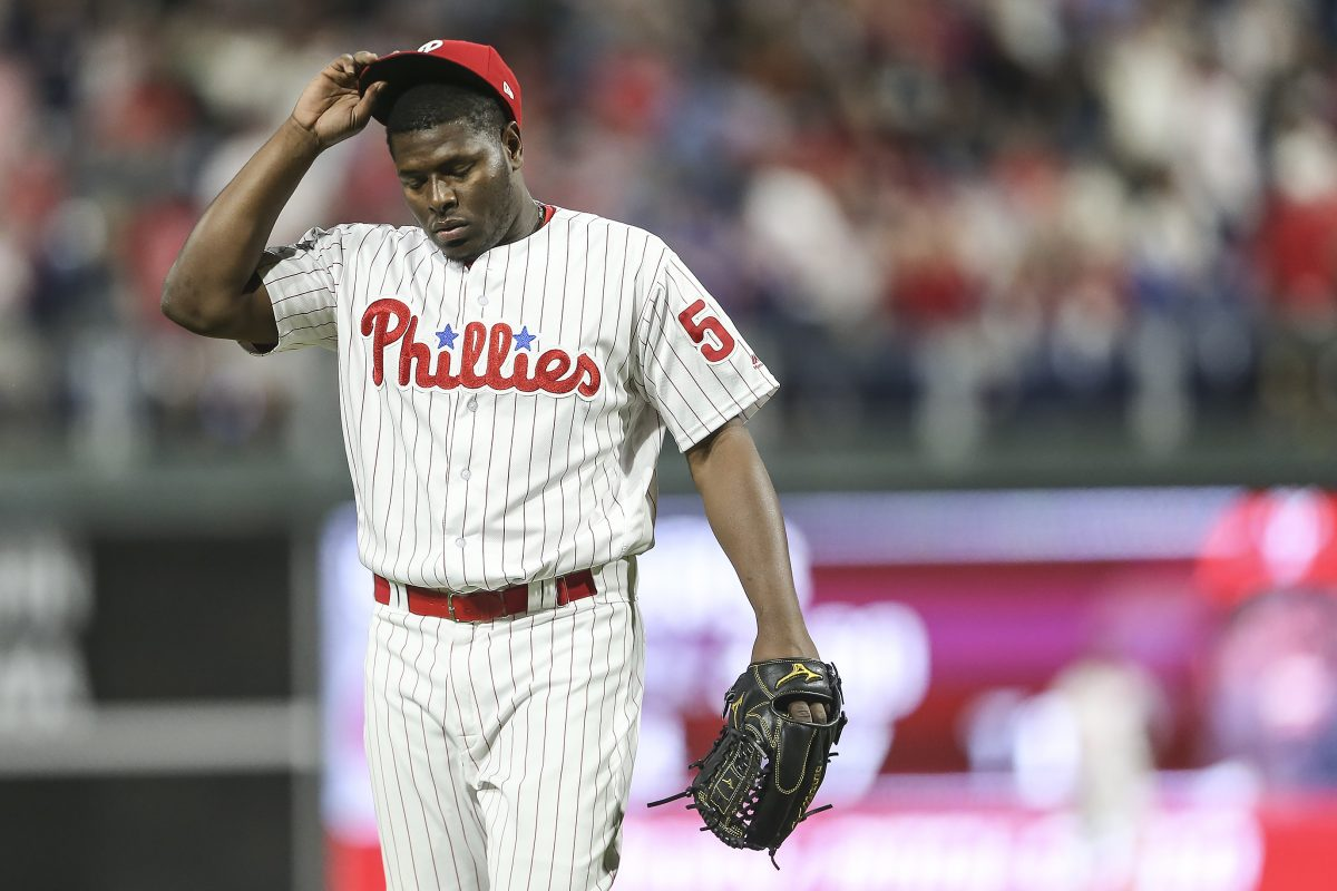 Hector Neris has lost his role as closer due to struggles early in the season.