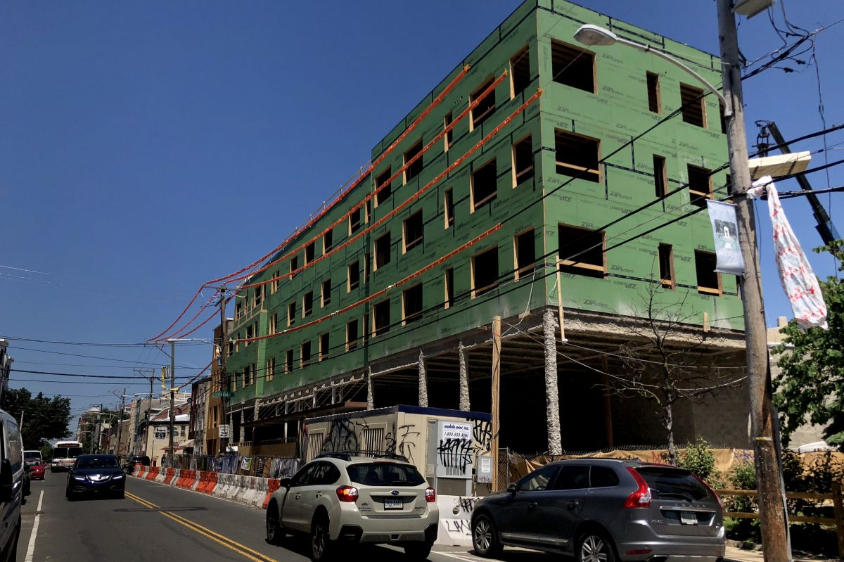 The building at 1405-21 Frankford Ave., which will be the new home of a Starbucks store.