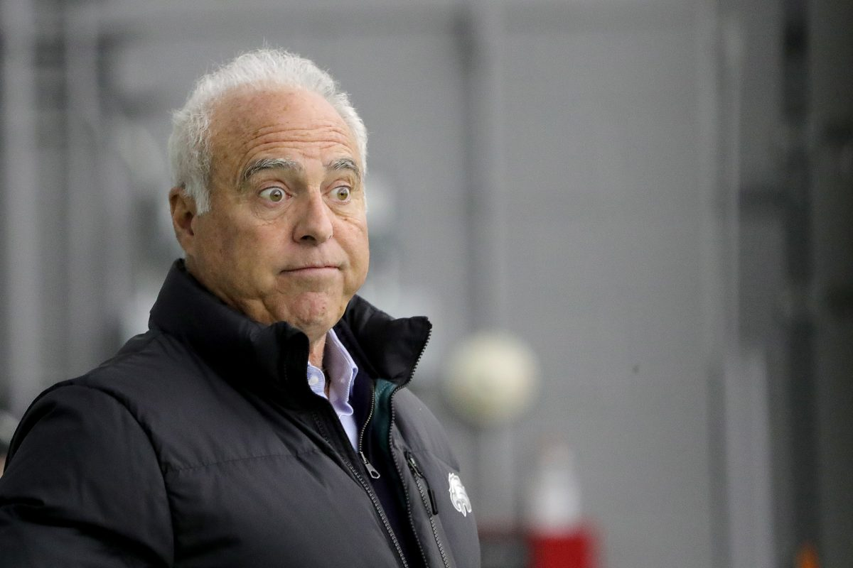 Eagles owner Jeffrey Lurie voted to limit freedom of expression.