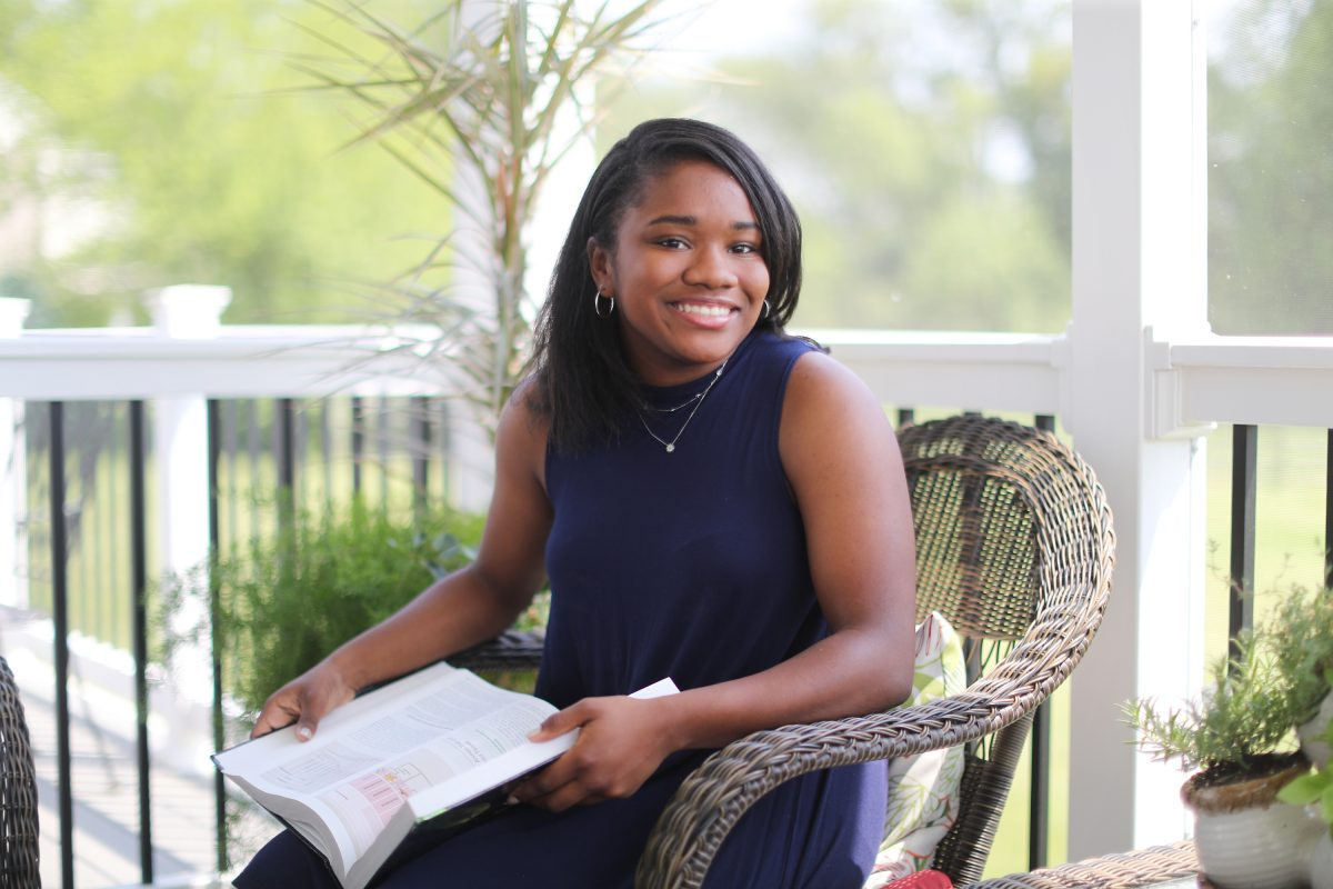 Jordan Brown was among the 15 Oxford area High School  students getting college degrees, and was asked to speak at her graduation Friday, May 25, 2018.