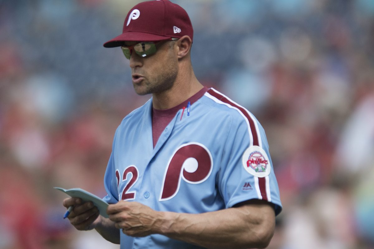 Phillies manager Gabe Kapler is a big proponent of the goose-egg statistic that monitors the effectiveness of relief pitchers.