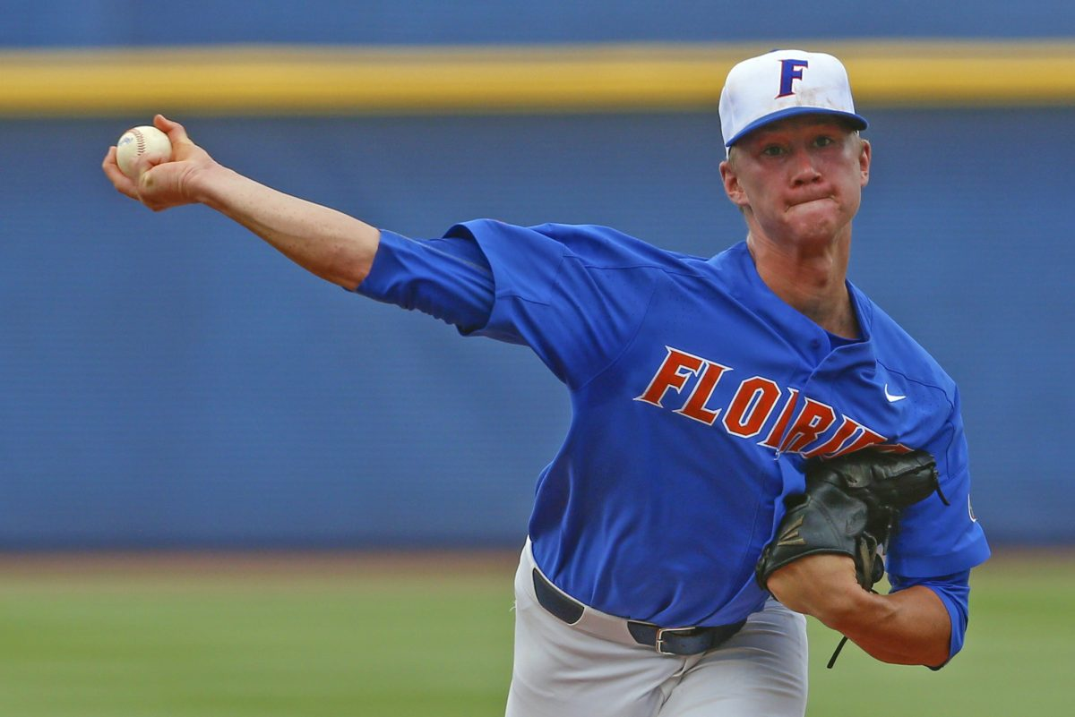 Florida pitcher Brady Singer is expected to be one of the first players taken in this year's draft, which begins on Monday, June 4.