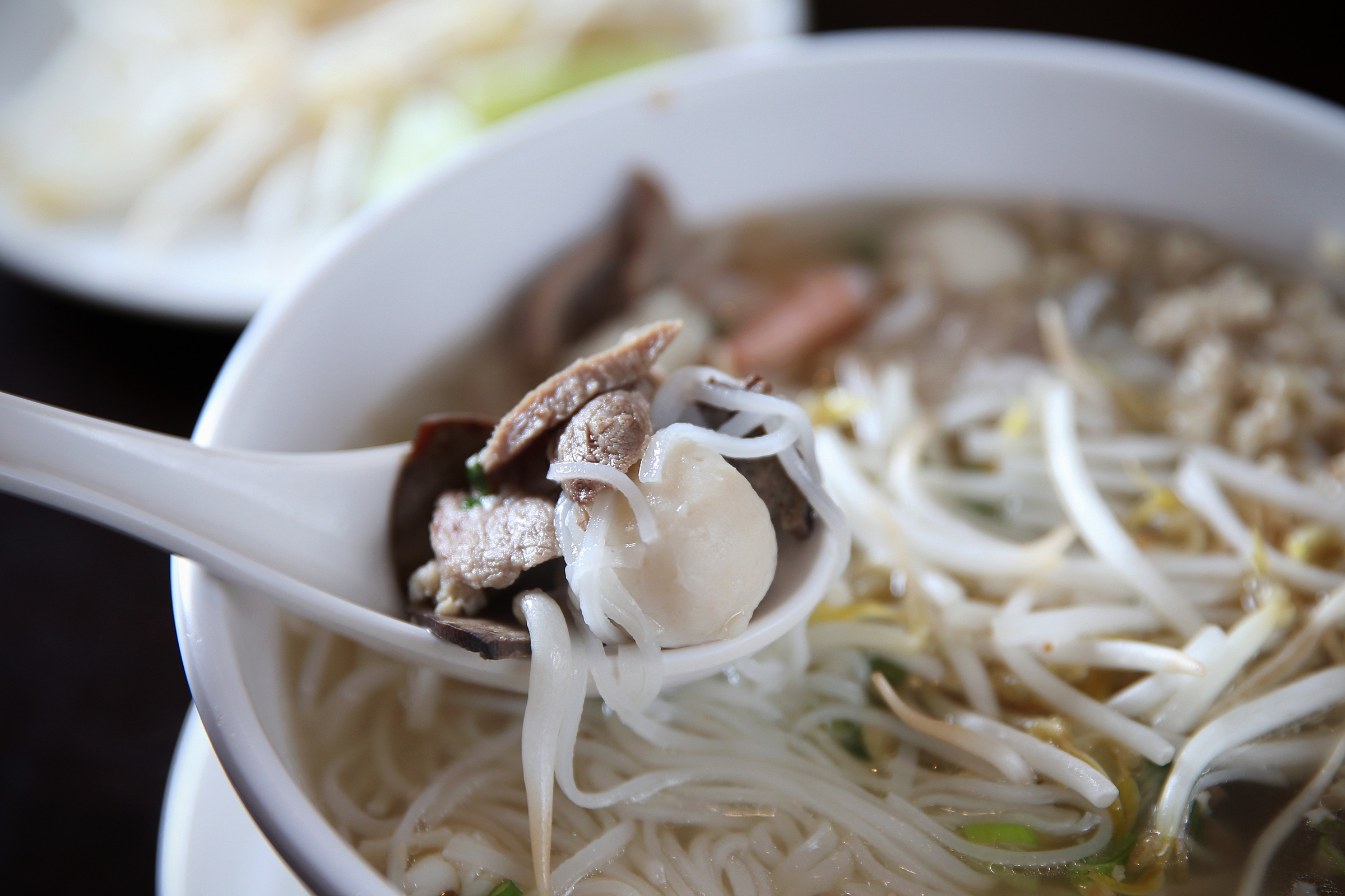 The Phnom Penh rice noodle soup at I Heart Cambodia.