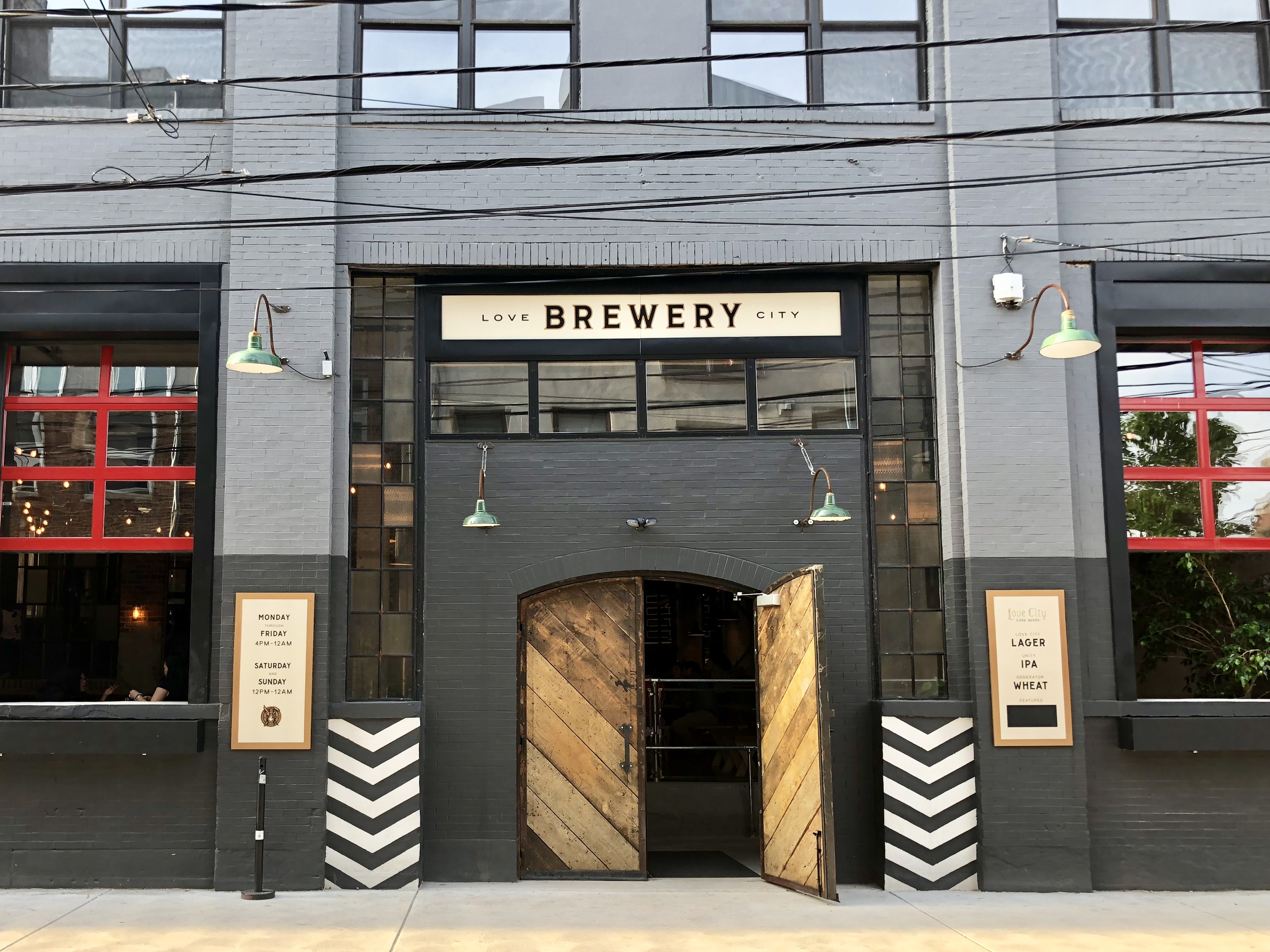 A 19th century industrial space on Hamilton Street has been transformed into the sprawling and handsome new Love City Brewing Co.
