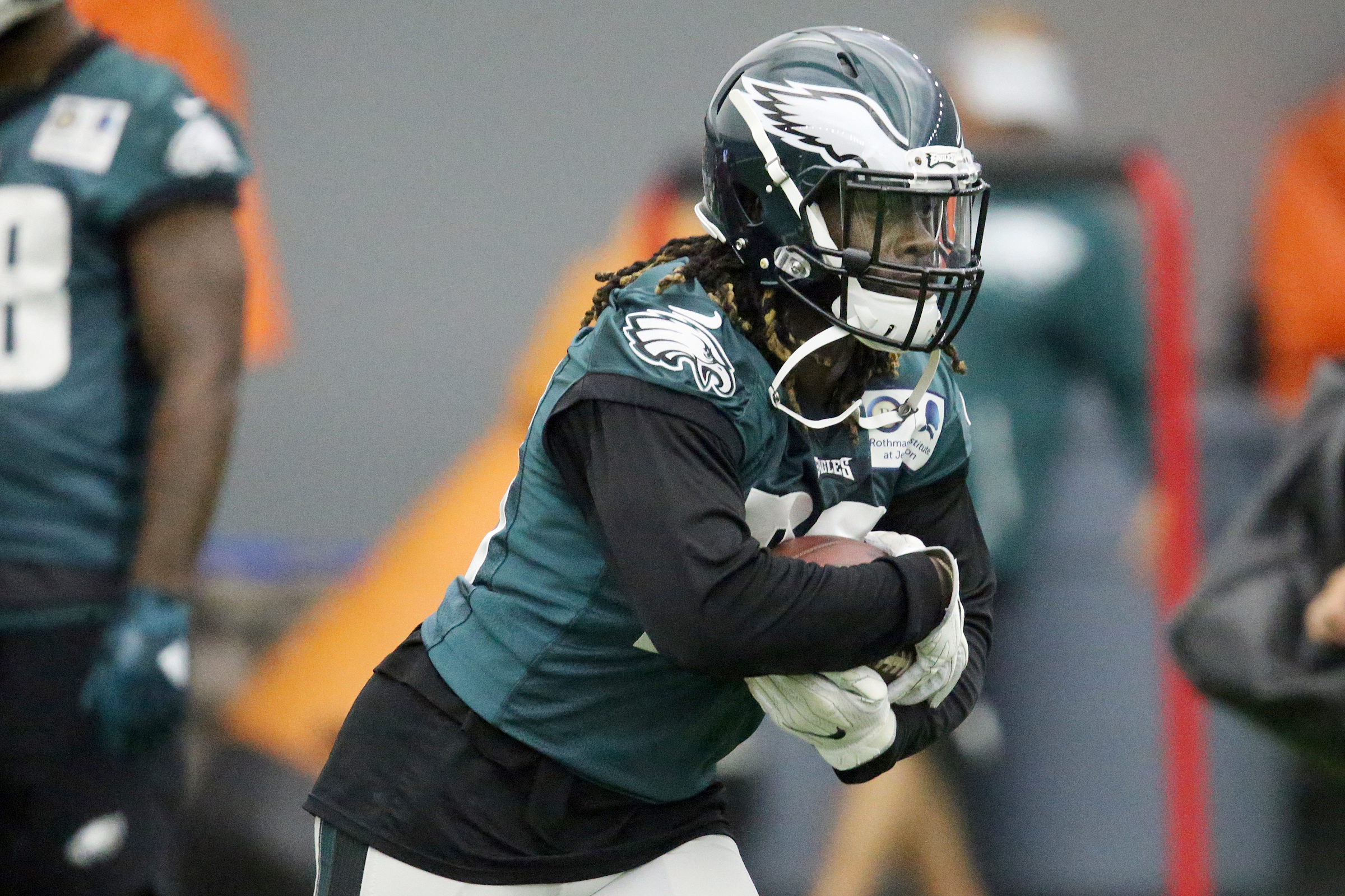 Eagles running back Jay Ajayi is entering his contract year.