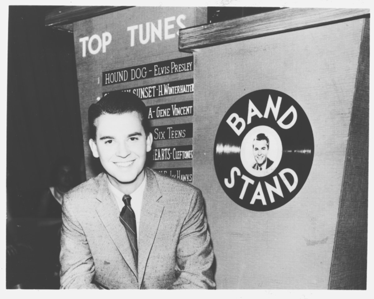 Dick Clark became a household name in Philadelphia and across the U.S. with his American Bandstand rock-and-roll dance show, initially broadcast from the WFIL-TV studios in West Philadelphia.