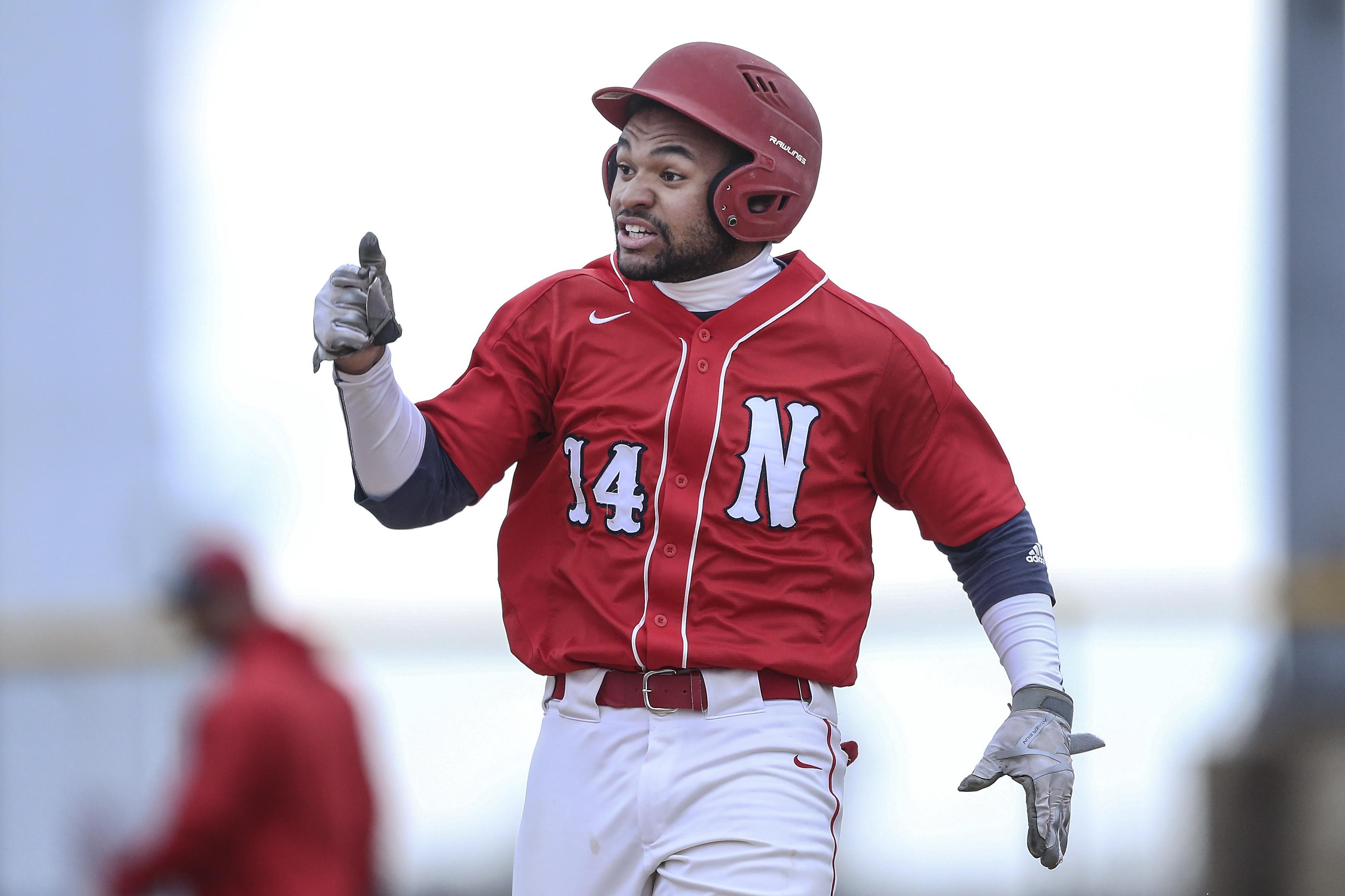 Neshaminy second baseman Brian Nicolas.