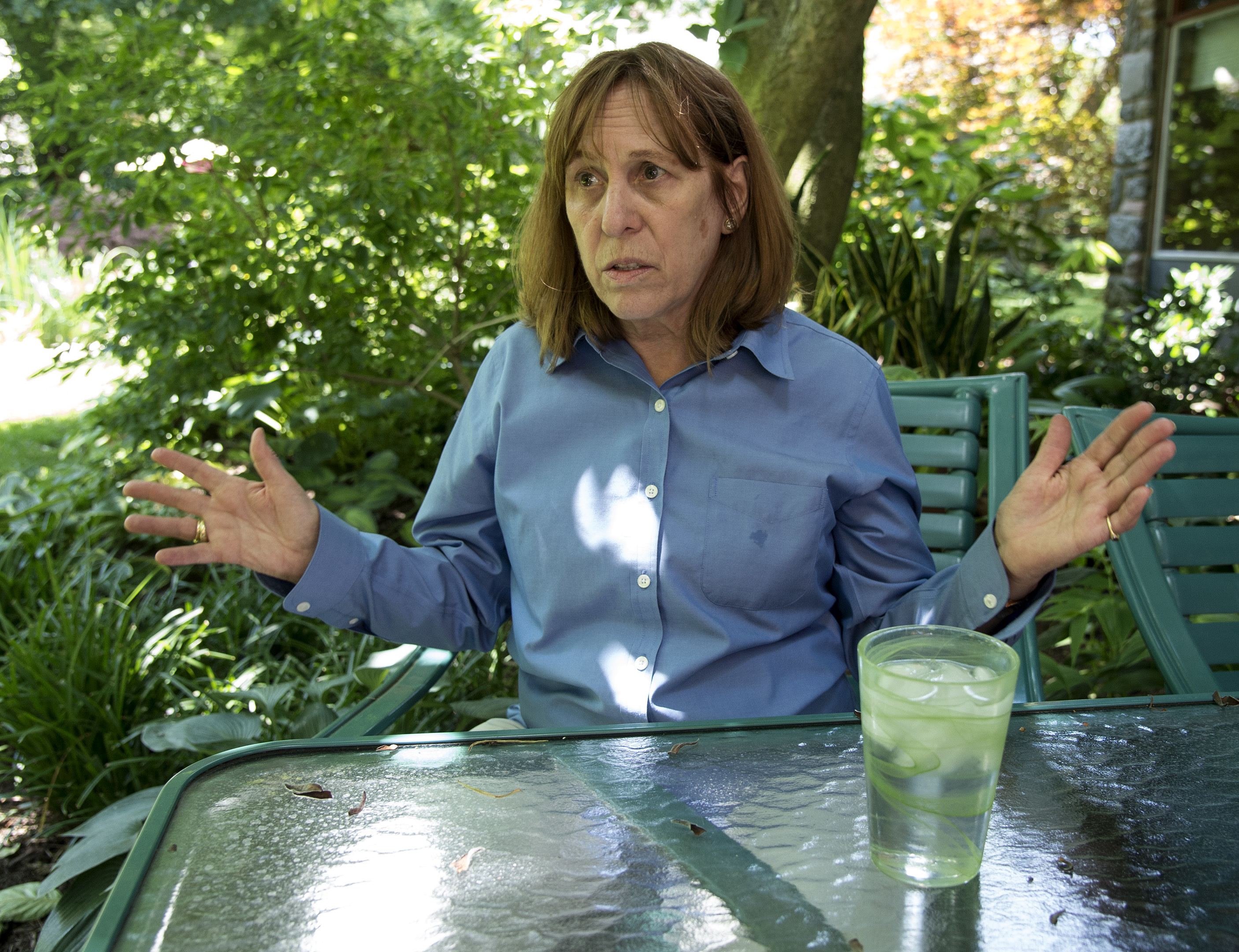 Suzanne Durand lives near Devil'sPool and has had to deal with all sorts of nasty things.