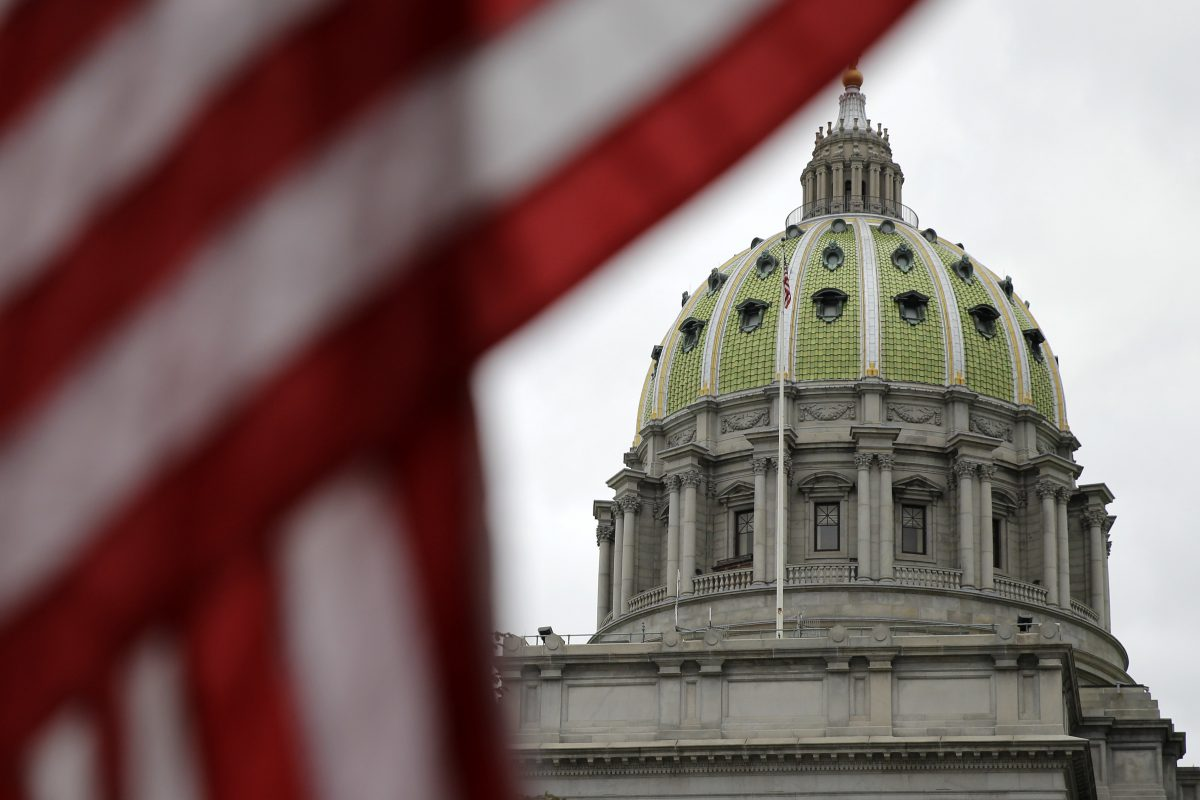 Legislators in the Pennsylvania state Capitol pass an on-time spending bill – but not a plan to pay for it, Pa. (AP Photo/Matt Rourke)