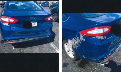 The PPA displayed pictures of ride share vehicles in poor shape during testimony in Harrisburg on June 7.