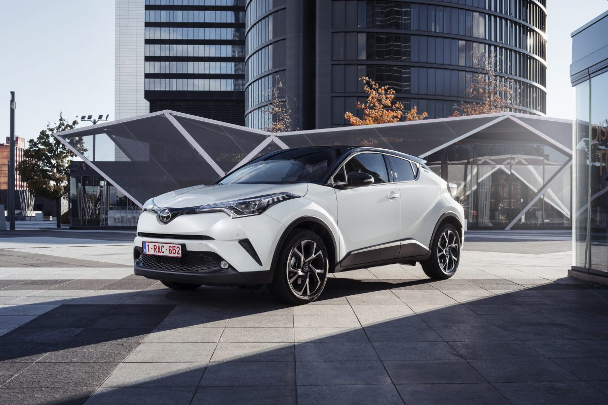 The 2018 Toyota C-HR Hybrid offered in Europe doesn't look much different from version sold here in the States — from the outside.