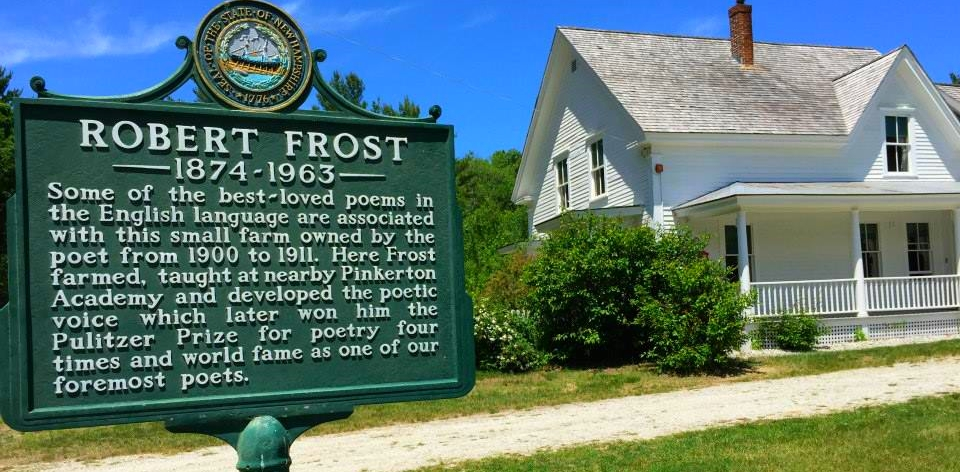 Robert Frost Farm in Derry, N.H., where Frost lived from 1900-1911. It´s now the site of the Frost Farm poetry program.