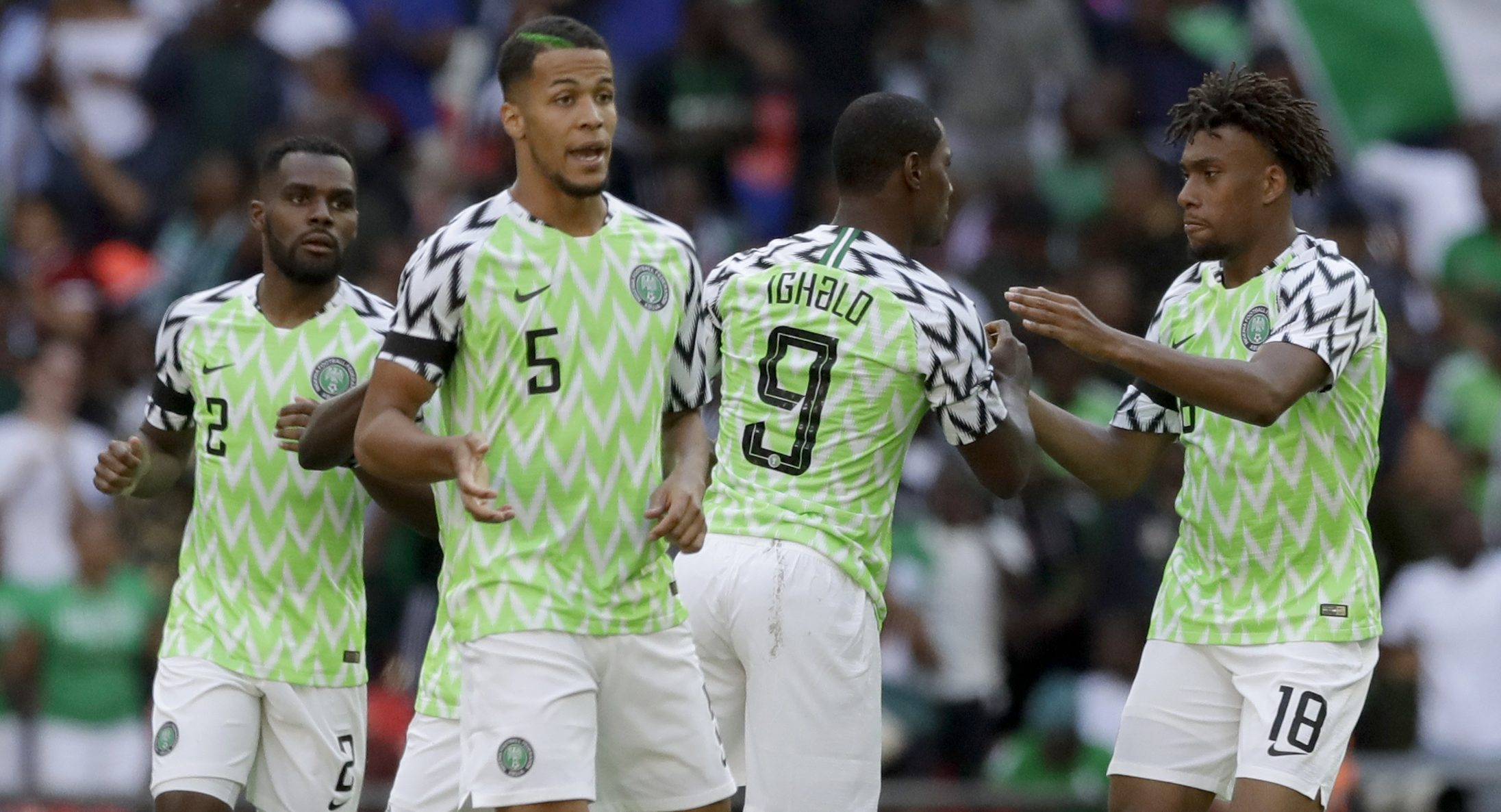 Nigeria´s jersey for this year´s World Cup has won praise from fans across the globe.