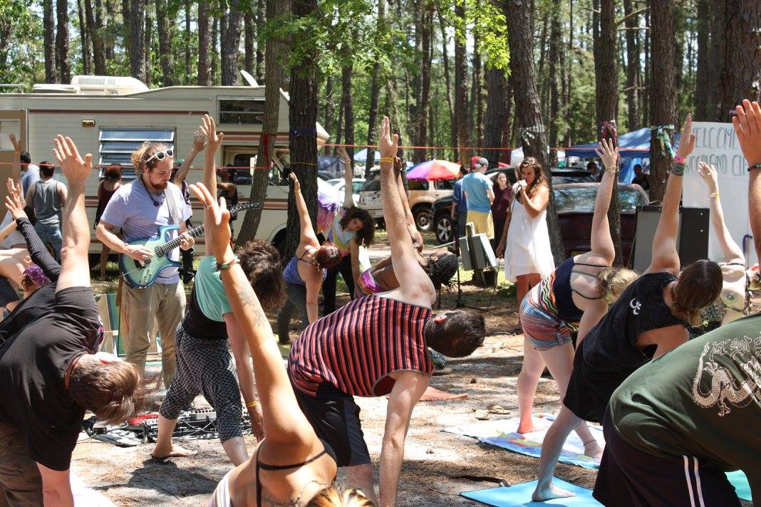 Yoga in the Pinelands with live musical accompaniment? Yup. It´s ´Beardfest,´ South Jersey´s homegrown festival of music and creative expression.