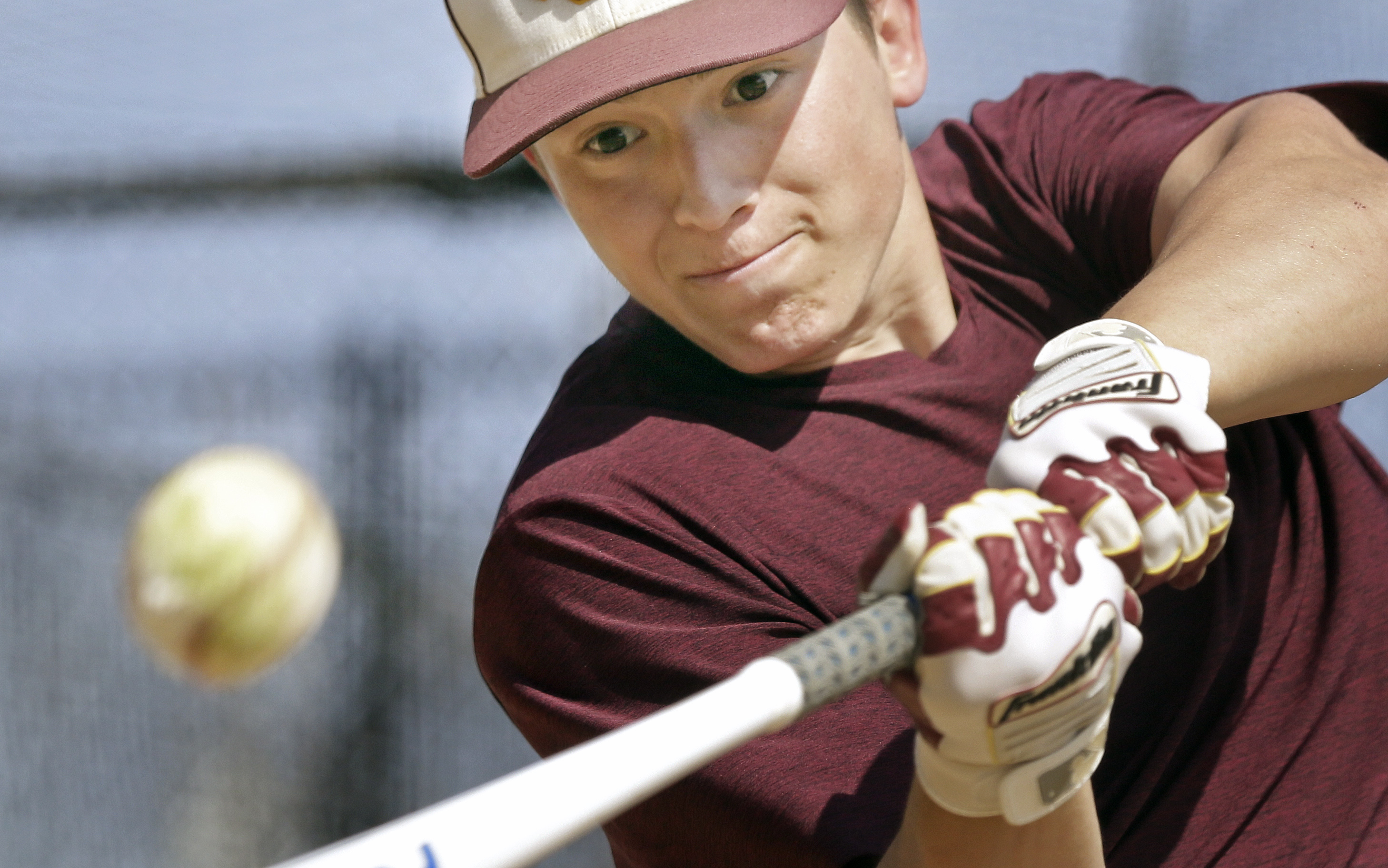 Gloucester Catholic´s Evan Giordano led the state with 30 extra-base hits and batted .543.