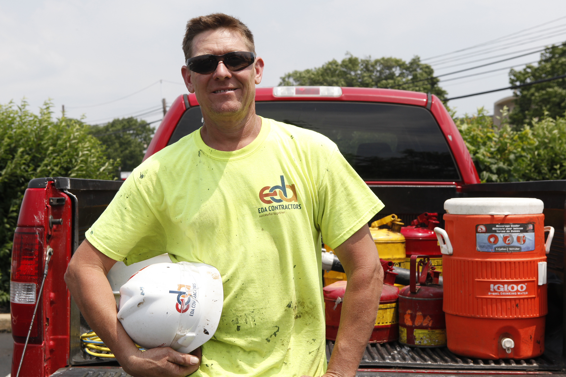Mike Blackie, a roofer at EDA Contractors, got trained in emotional intelligence and has learned to turn his bad attitude into a positive one.