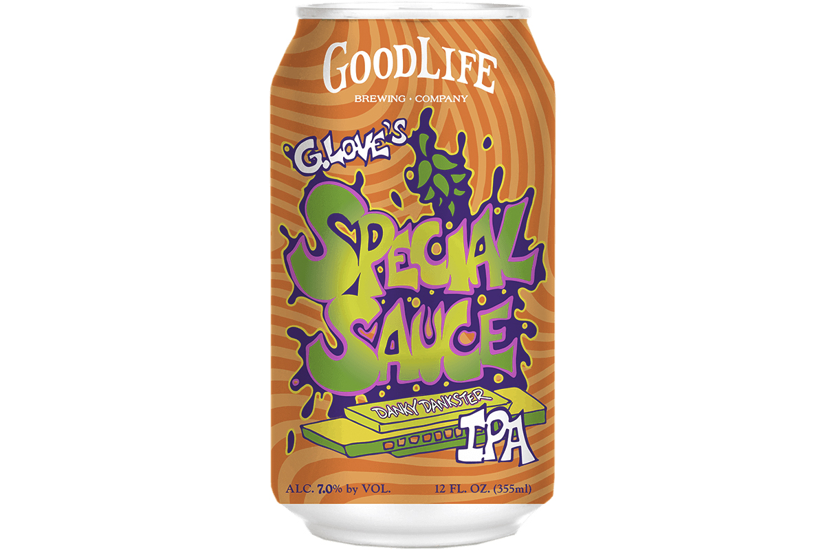 """G. Love of G. Love & Special sauce has teamed up with Oregon´s GoodLife Brewing for """"G. Love´s Special Sauce: Danky Dankness IPA."""""""