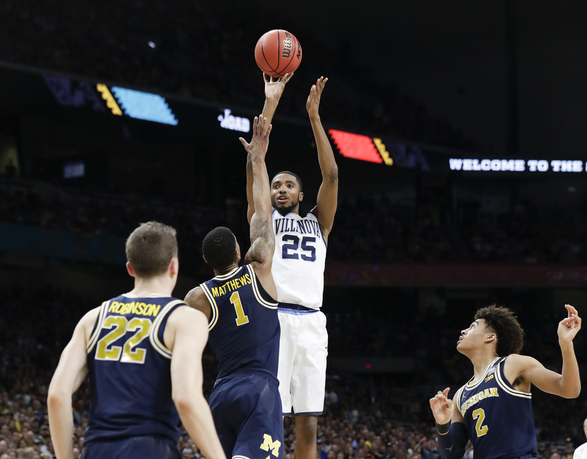 Mikal Bridges took and made more 3-pointers than any other Villanova player last season.