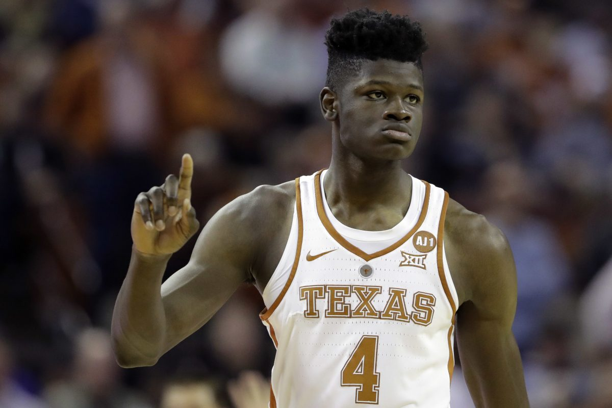 Mohamed Bamba spent just one season at Texas. His offense is still a work in progress, but he's considered the top defensive big man in the draft.