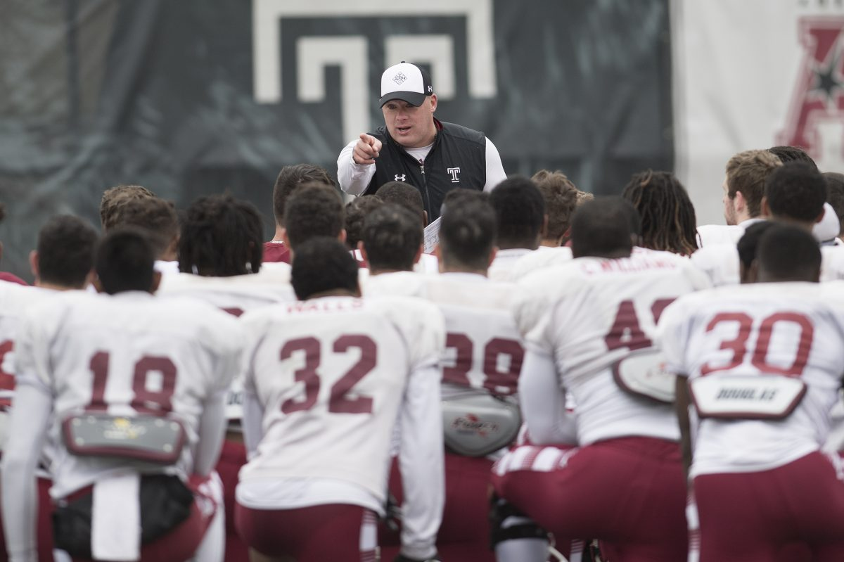 Temple football coach Geoff Collins picked up a local commit.