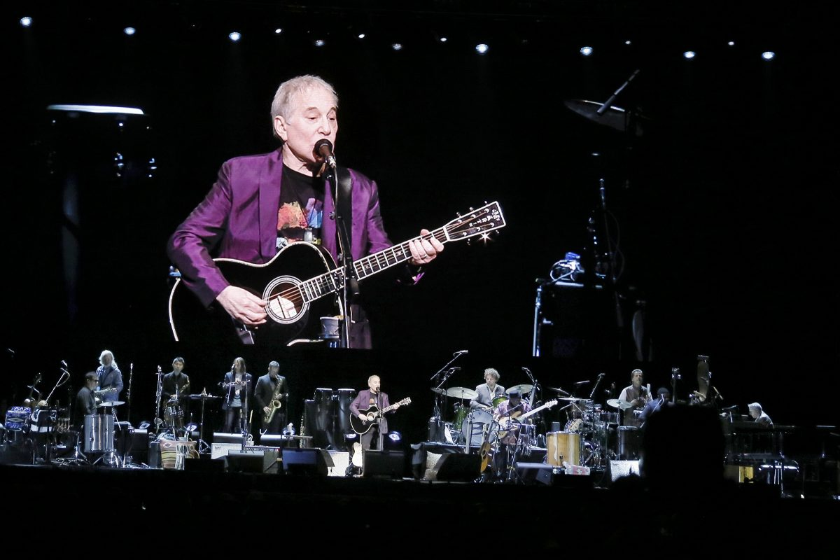 Paul Simon performs at the Wells Fargo Center in Phila., Pa. during his Homeward Bound – The Farewell Tour on June 16, 2018. ELIZABETH ROBERTSON / Staff Photographer