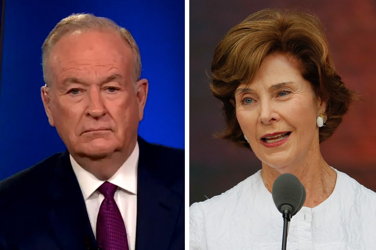 Former Fox News host Bill O'Reilly and former First Lady Laura Bush are among the notable conservatives who have come out against the Trump administration's policy of separating families who cross the border illegally, even if they are seeking political asylum.