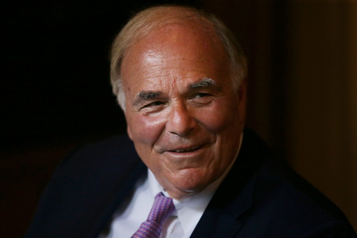 Former Gov. Ed Rendell announces he has Parkinson´s disease during a news conference at Pennsylvania Hospital in Philadelphia, PA on June 18, 2018.