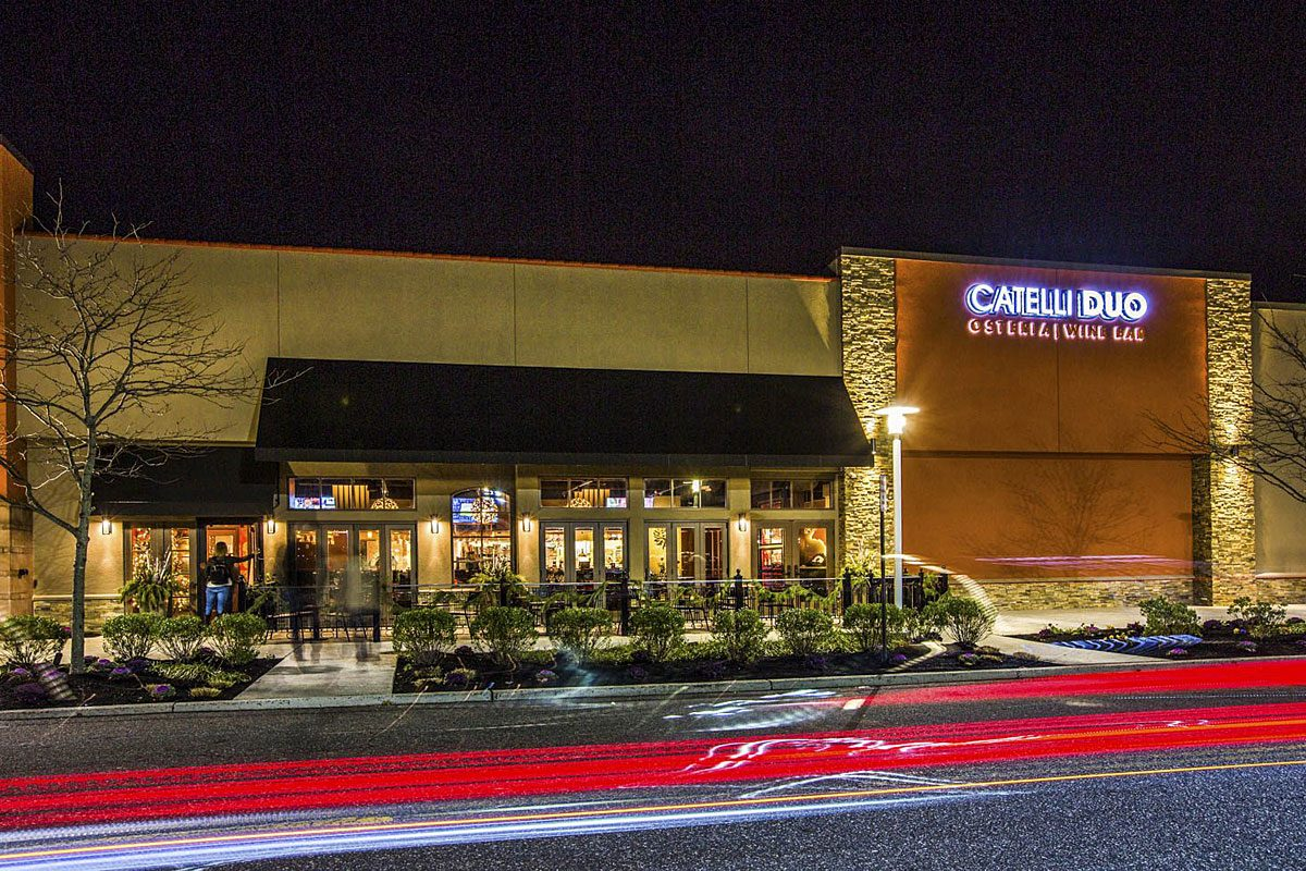 Catelli Duo's location in Moorestown Mall replaced Osteria.