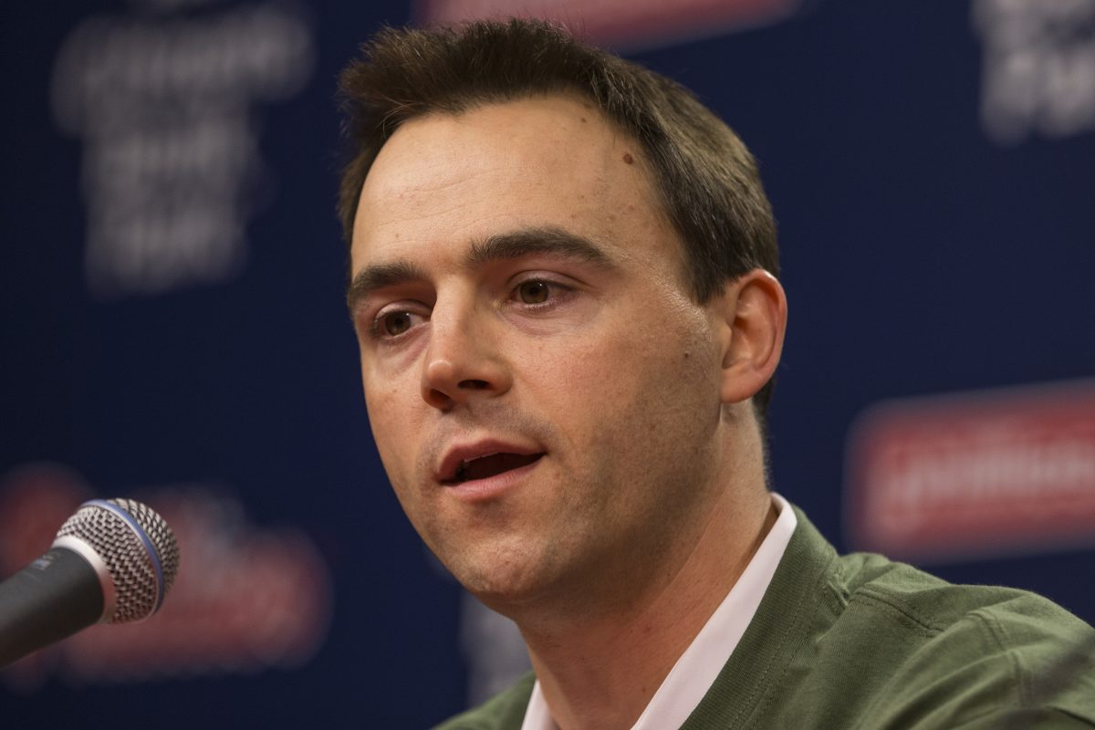 Phillies general manager Matt Klentak is not ruling out the possibility that the Phillies could be buyers at the trade deadline.
