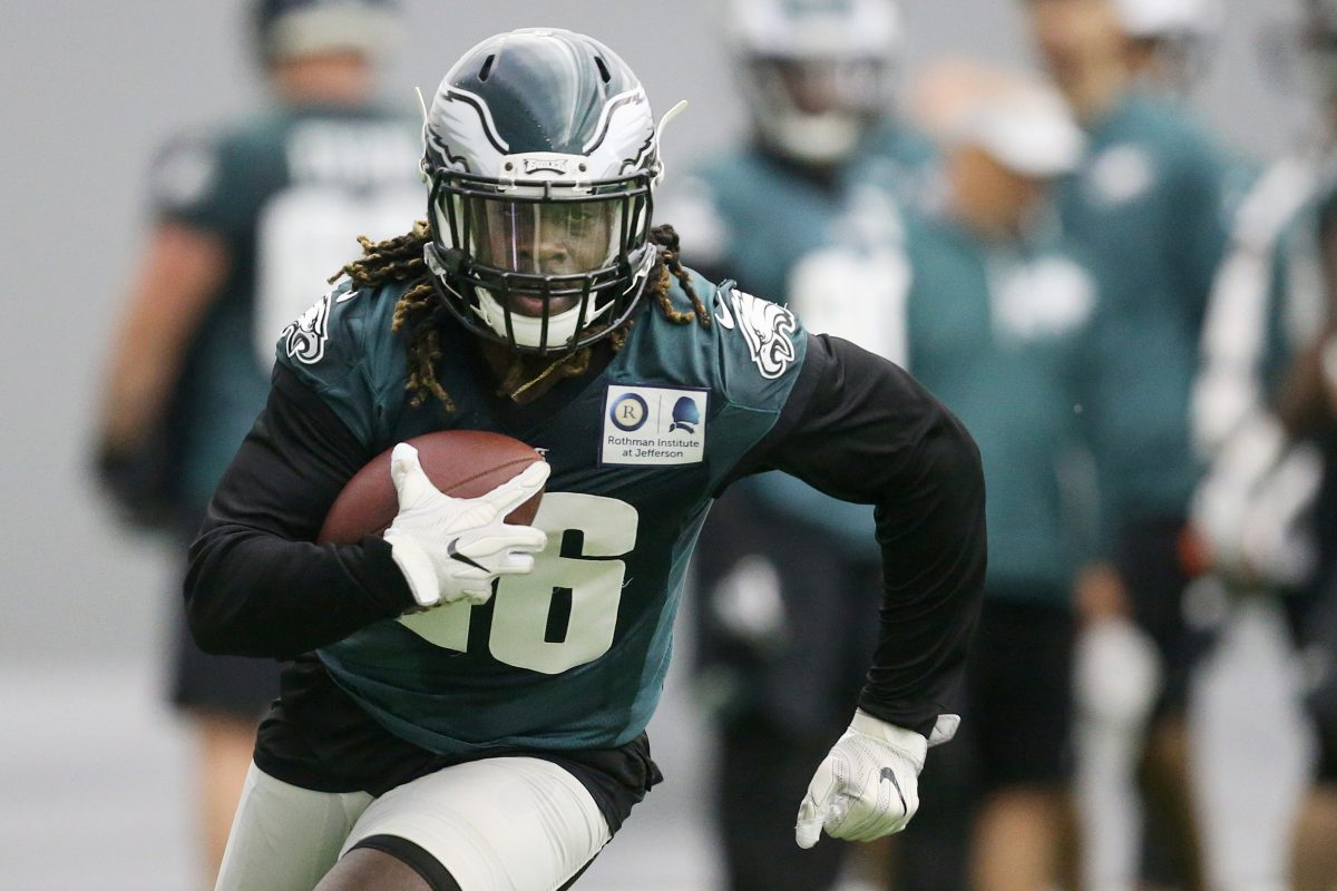 Jay Ajayi is the Eagles' lead running back entering training camp.