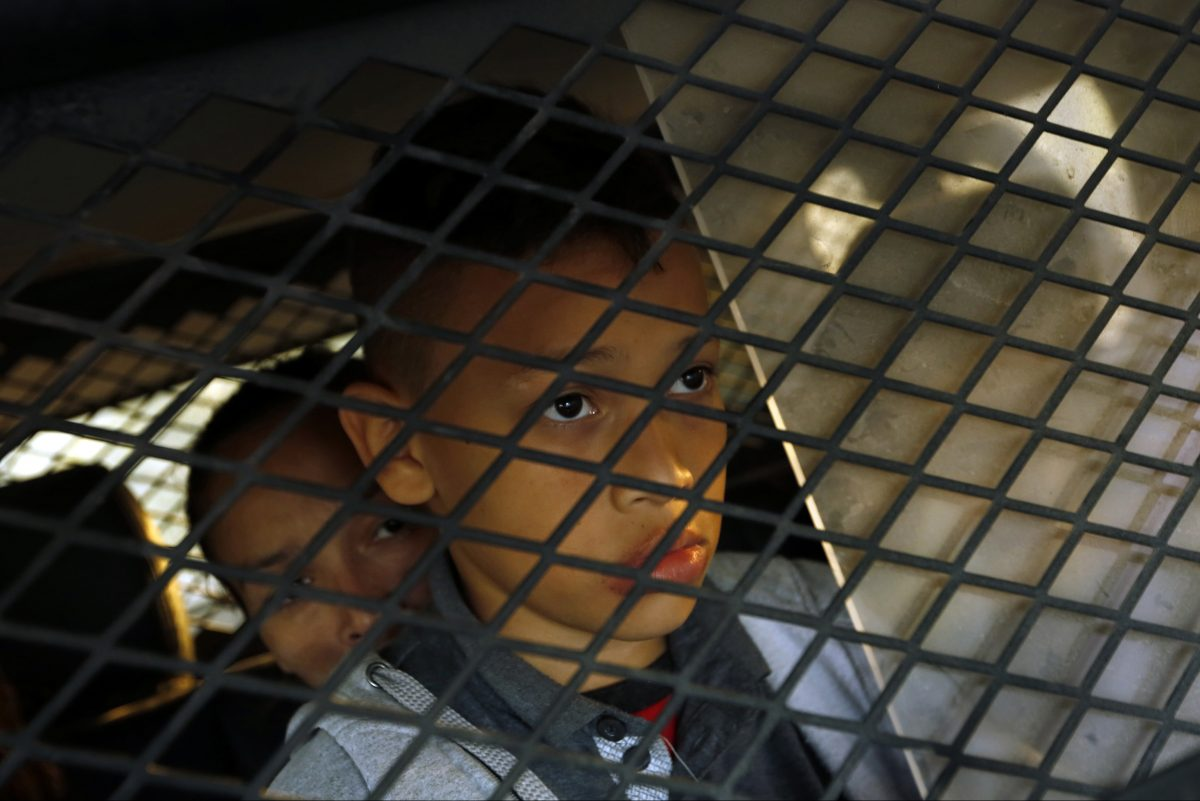 A young boy is detained along with his family members in Texas.