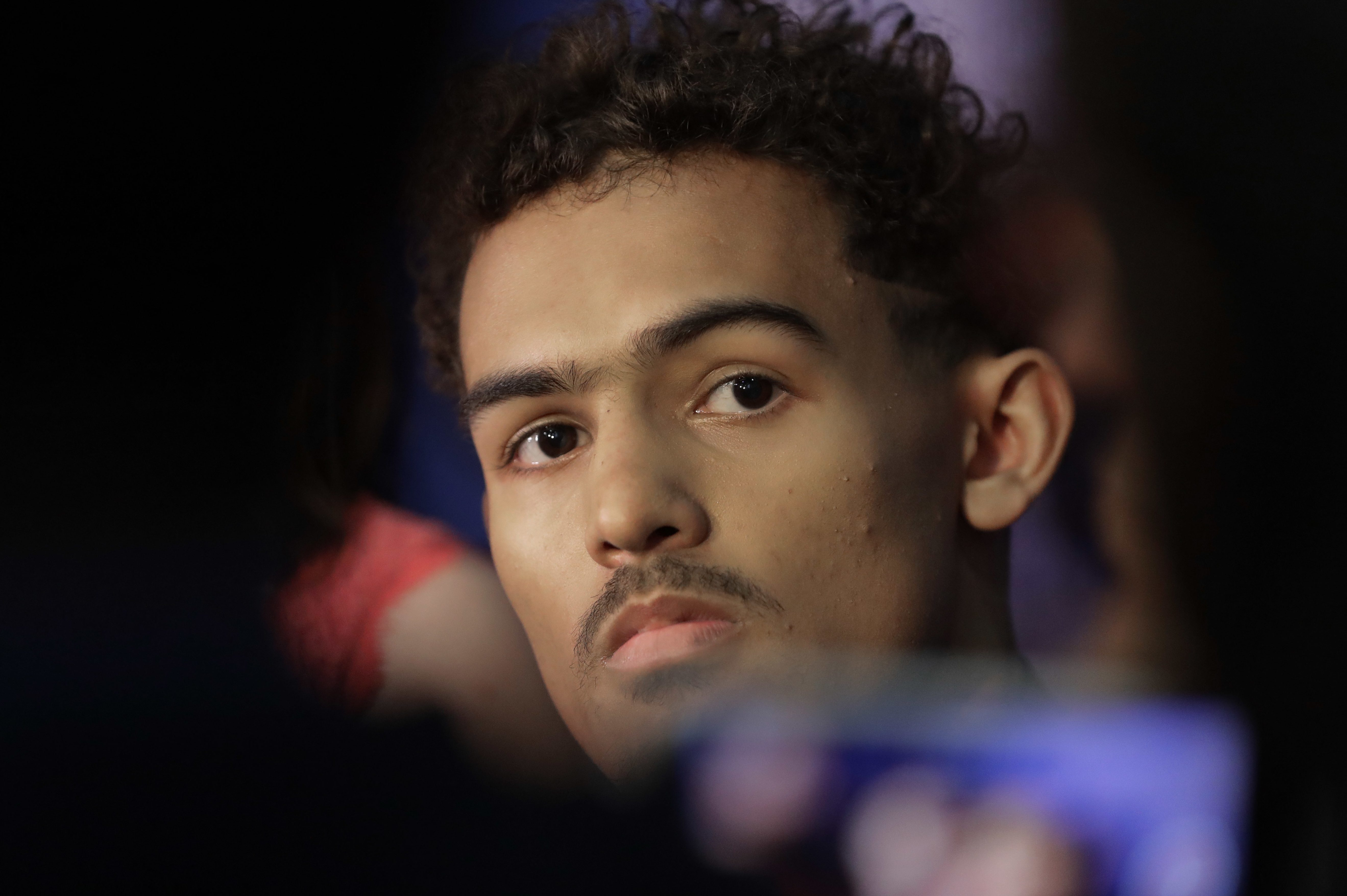 Could the Sixers move up to draft Trae Young?