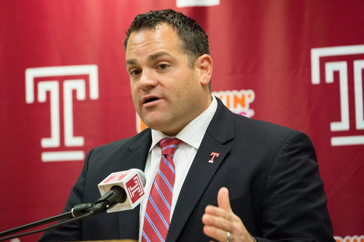 Patrick Kraft has been Temple's athletic director since 2015.