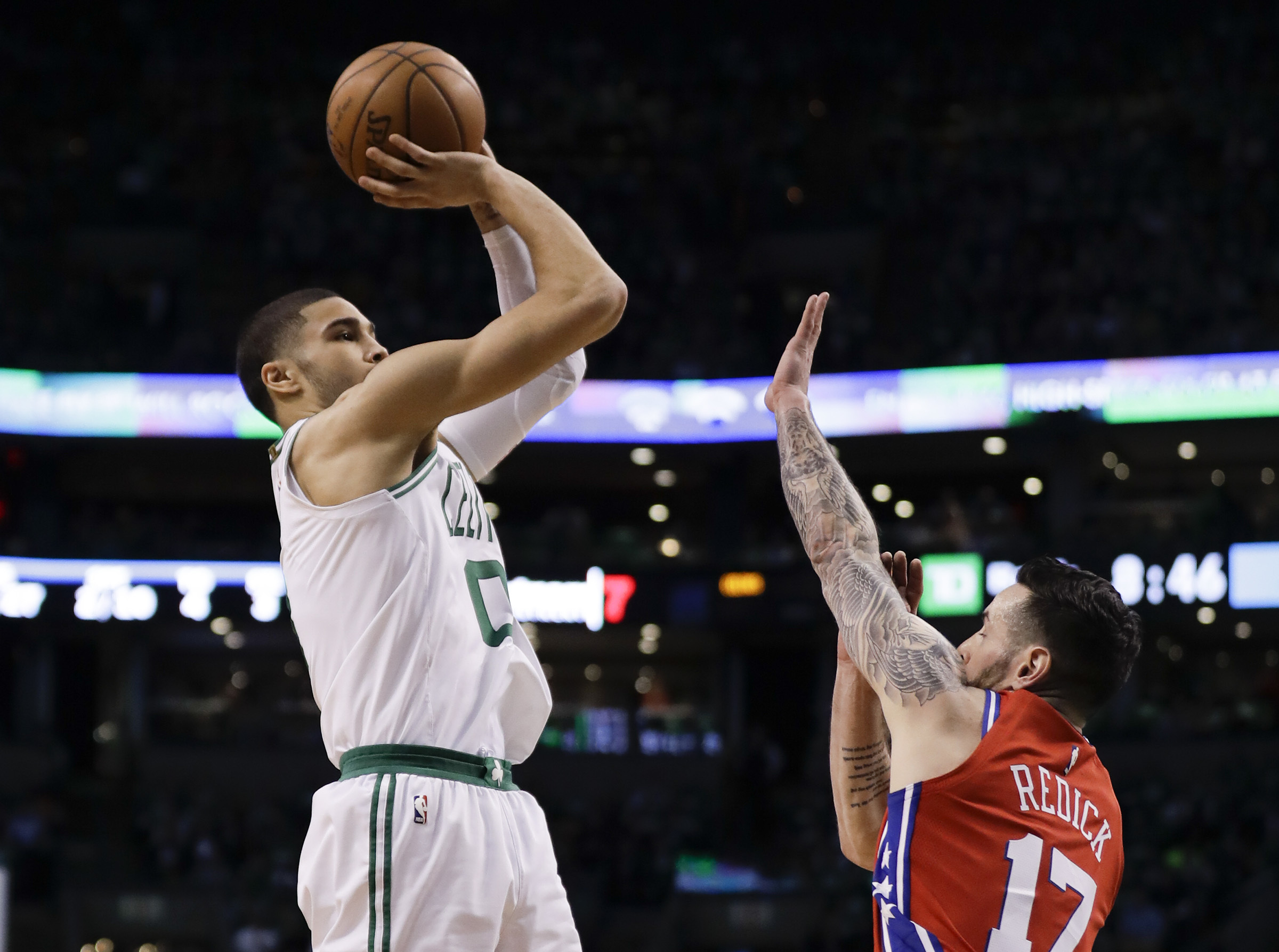 Jayson Tatum´s shooting percentage as a rookie is the outlier, not the mean.
