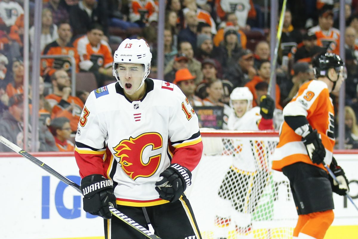 Calgary Flames left winger Johnny Gaudreau has invested in one of his former teams.