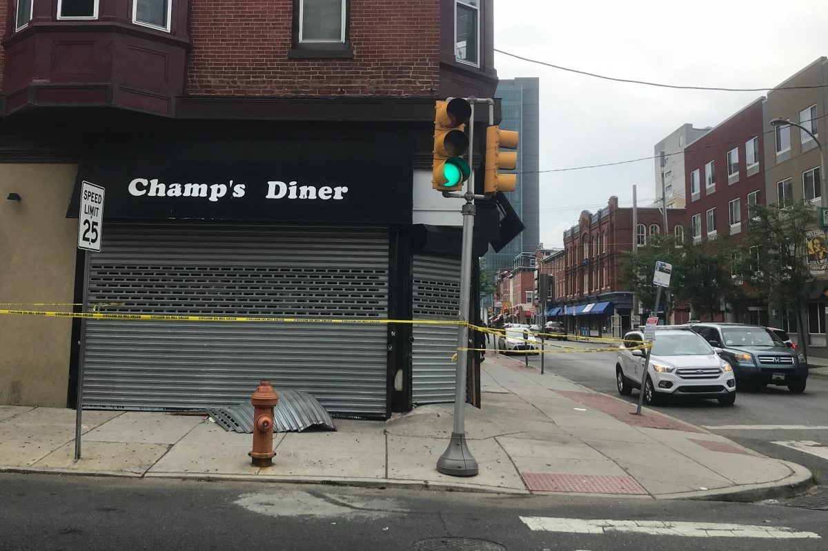 Champs Diner, located at 1539 Cecil B. Moore Ave.