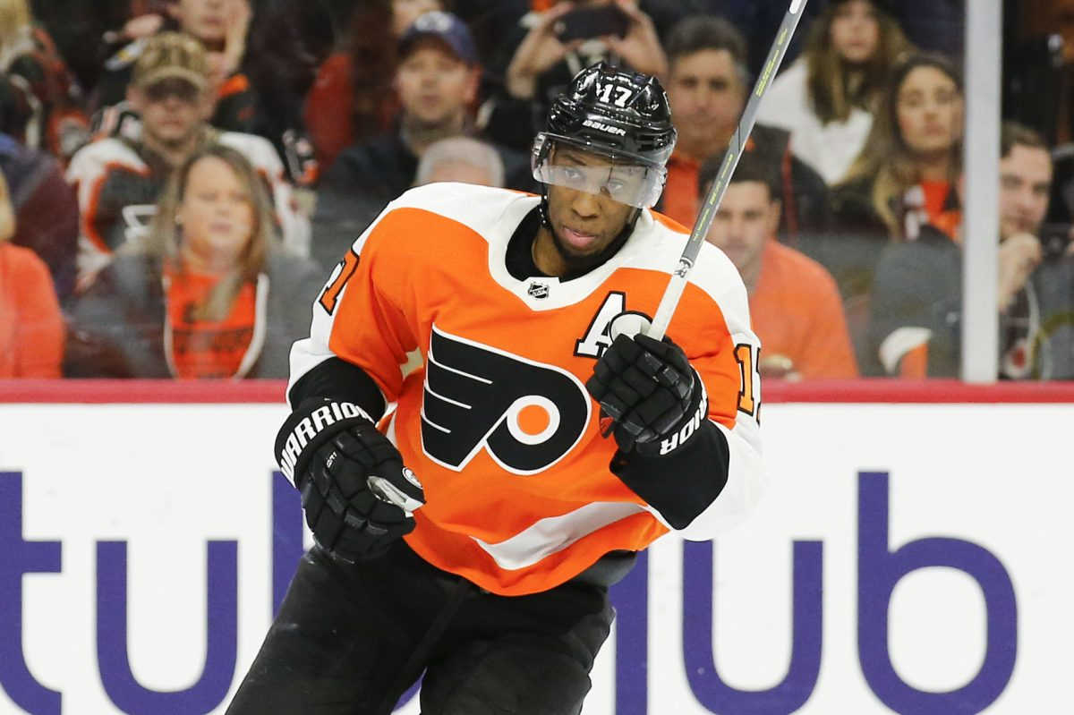 Will Wayne Simmonds still be a Flyer at week's end?