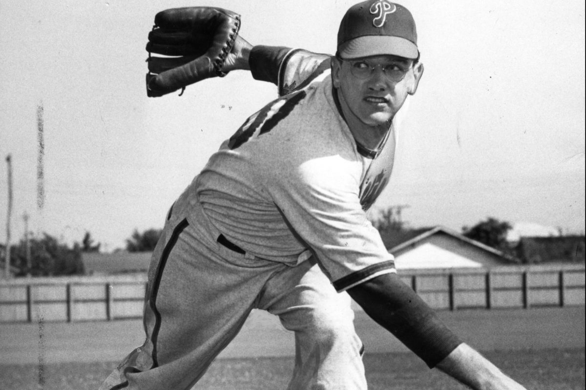 Phillies relief pitcher Jim Konstanty.