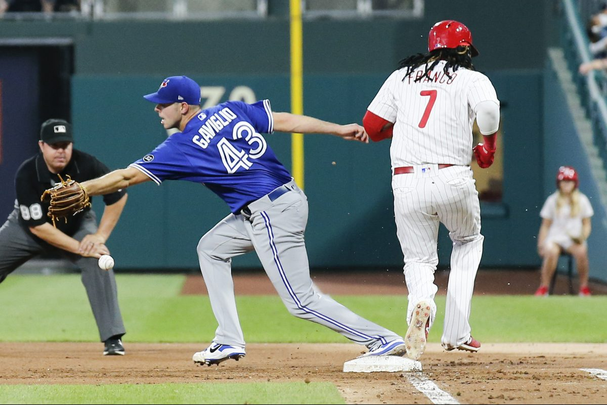 Maikel Franco hits way too many ground balls for Phillies manager Gabe Kapler's liking.