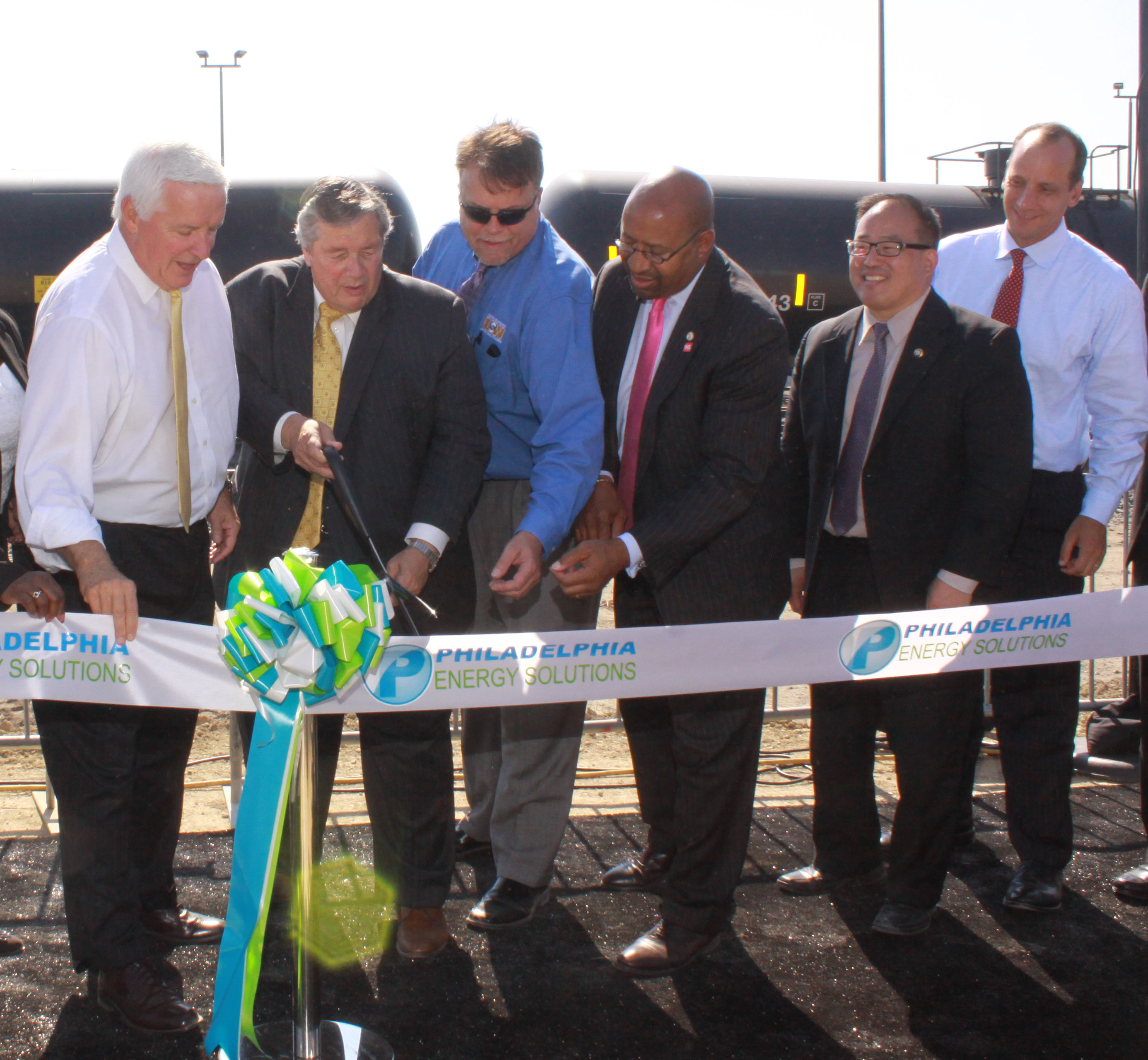 Labor, management and elected officials joined to relaunch the South Philadelphia refinery under new ownership.