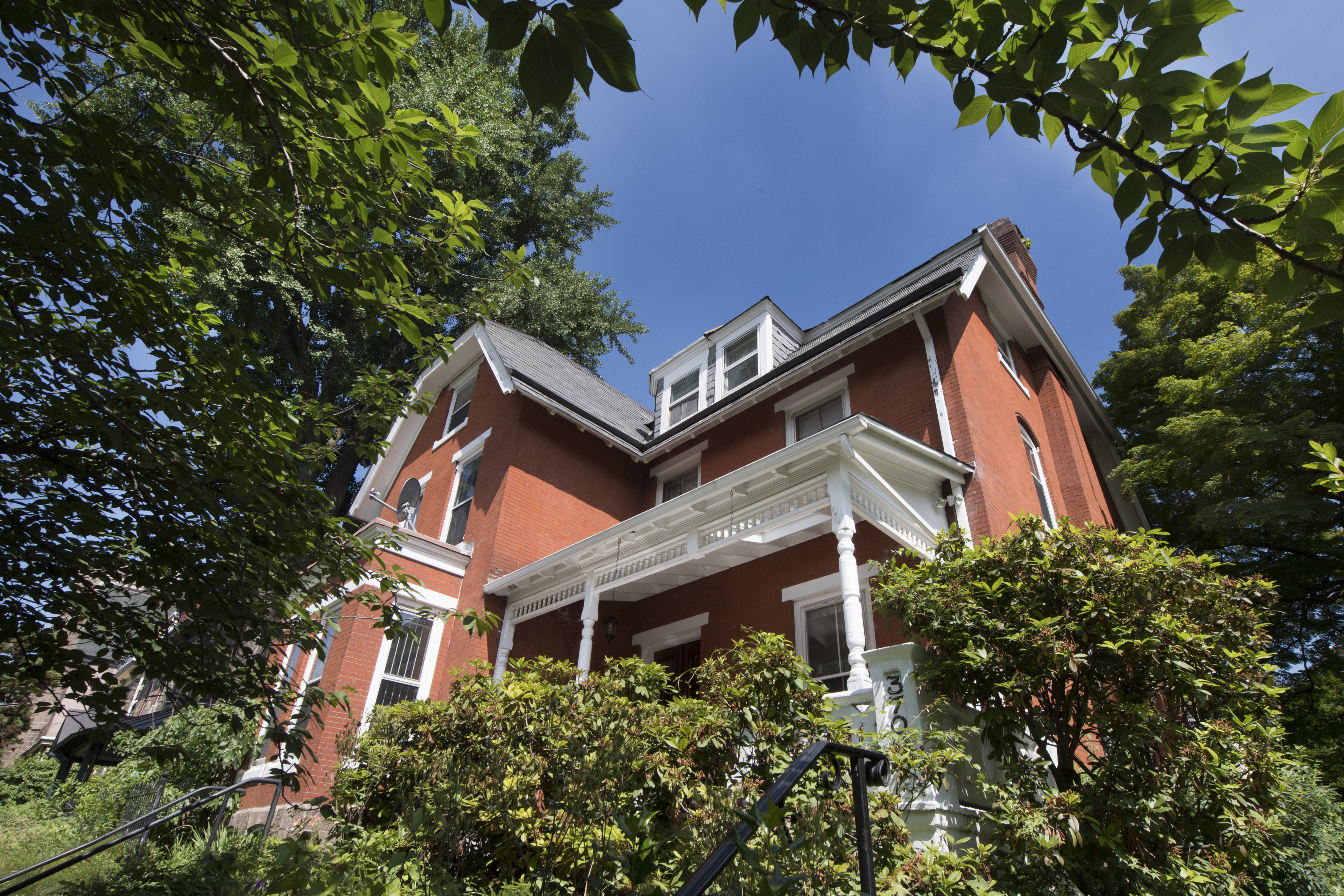 Monique Greenwood´s newly purchased bed and breakfast home is shown in West Philadelphia, Pa. Wednesday, June 20, 2018. JOSE F. MORENO / Staff Photographer