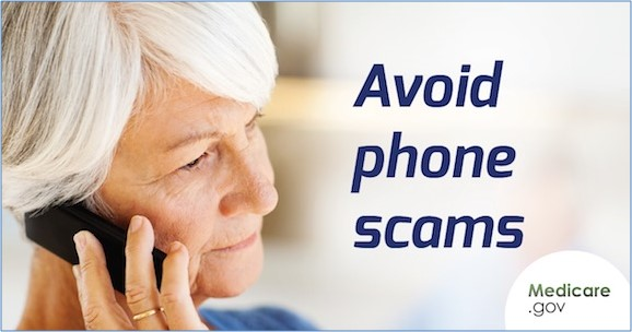 Avoid Medicare phone scams.