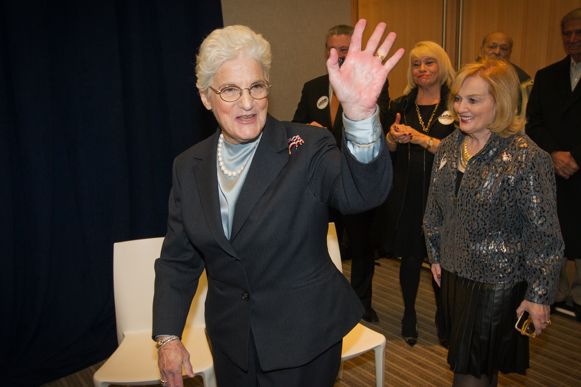Lynne Abraham served 18 years as Philadelphia's district attorney.