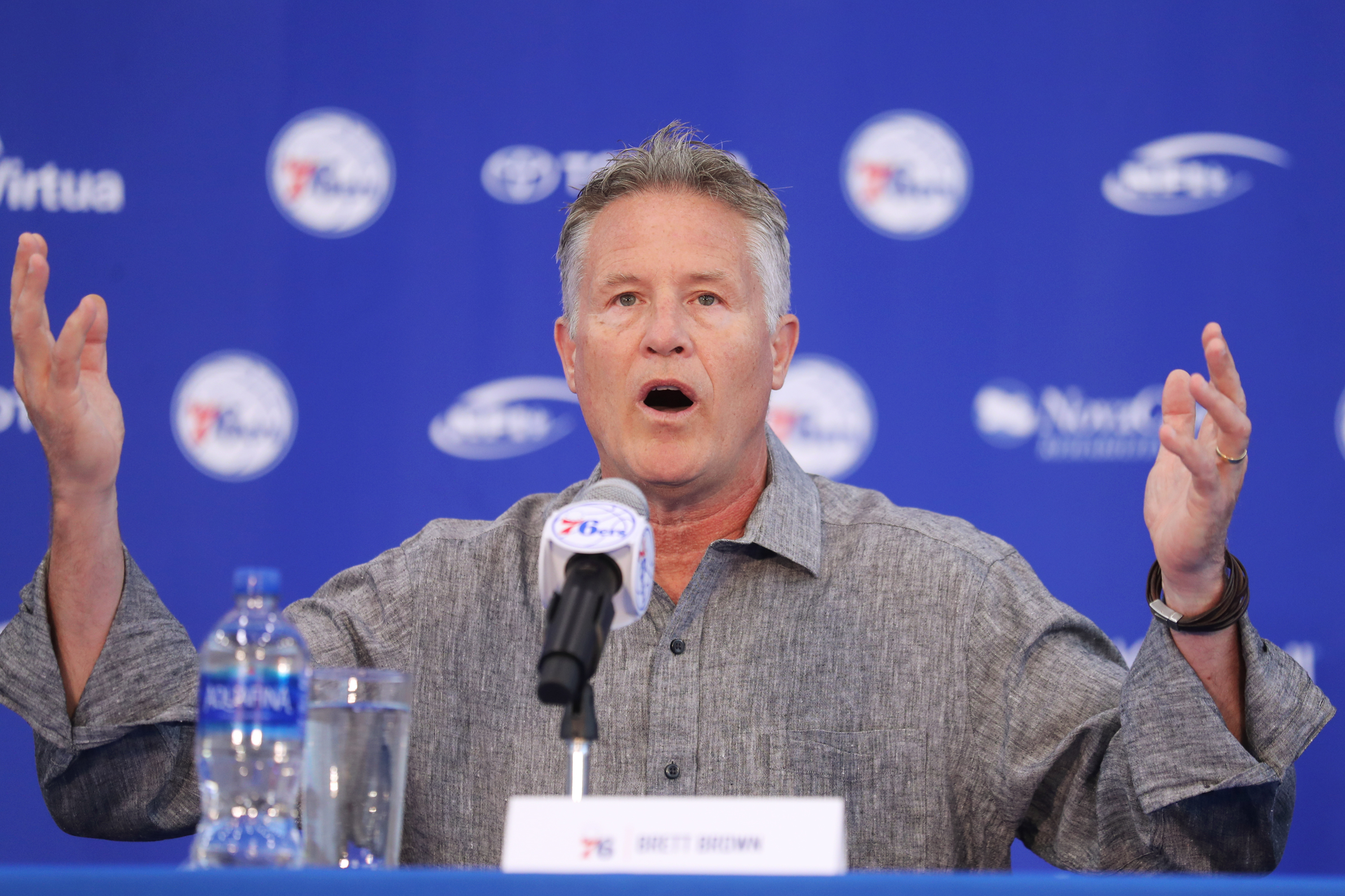 Brett Brown is off to a rough start in his Star Hunt.