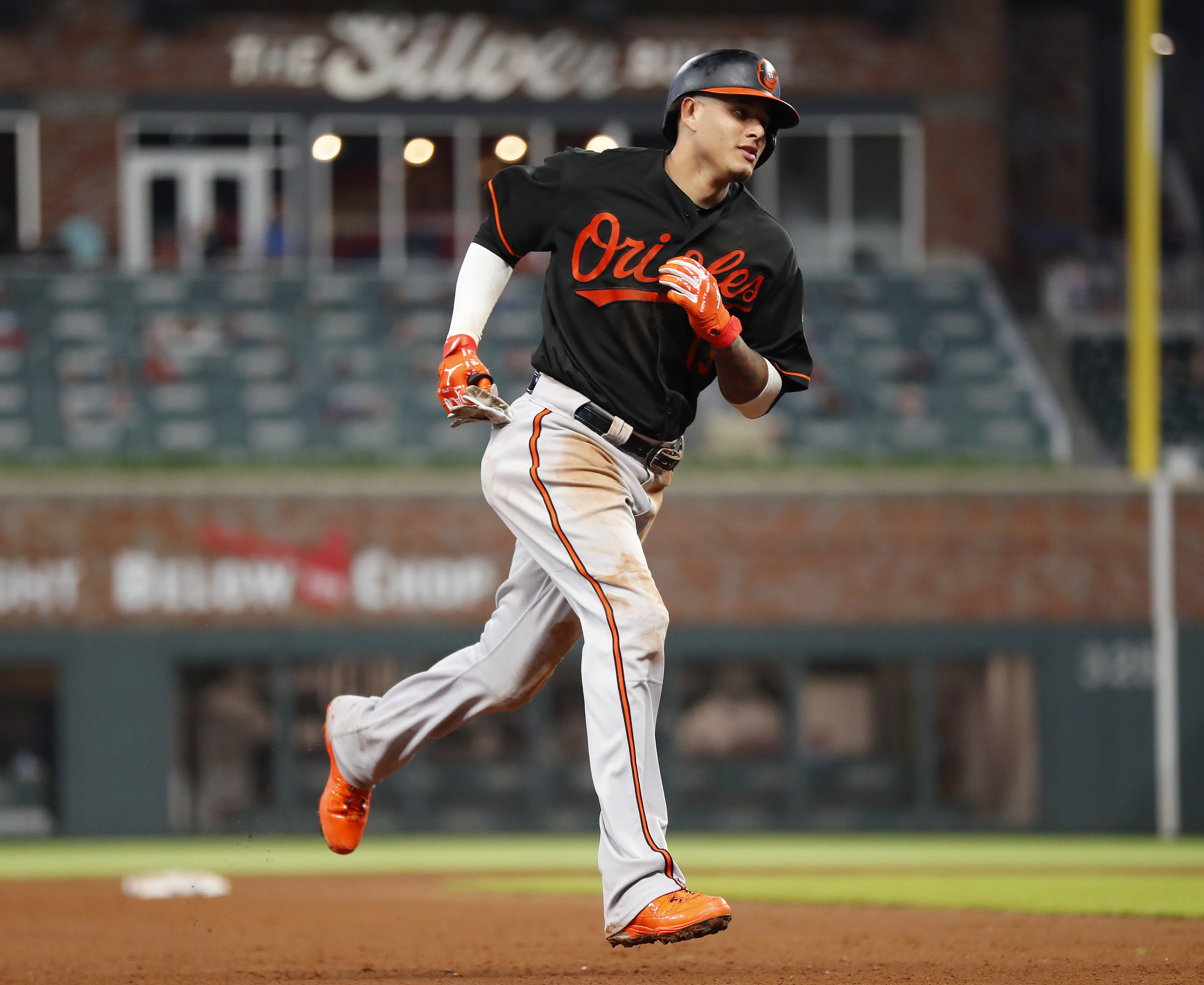 Shortstop Manny Machado and his Baltimore Orioles will be at Citizens Bank Park the next two days. The Phillies would love to see him return one day wearing red pinstripes.