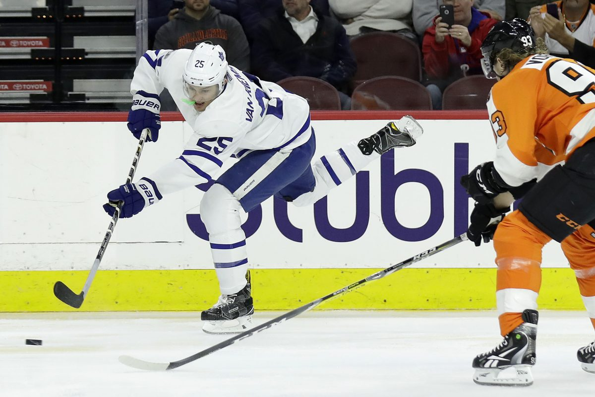 "James van Riemsdyk (above) and Danny Briere aren´t alike in styles or sizes, but they were signed for a similar reason: To show the rest of the NHL that the Flyers are ""all in,"" and that the rebuilding process has been taken to the next level."