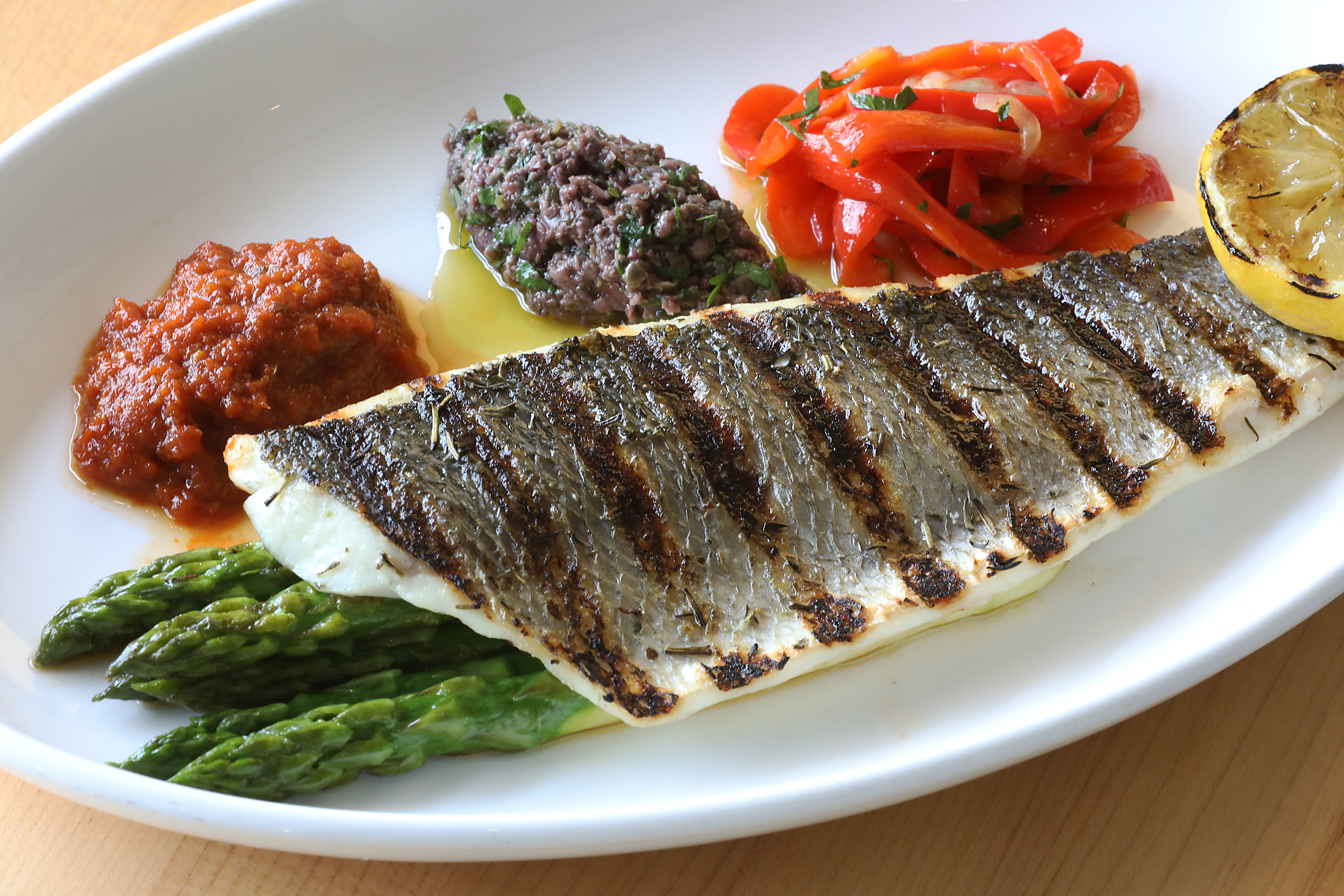 A Mediterranean diet included fruits, vegetables and fish.