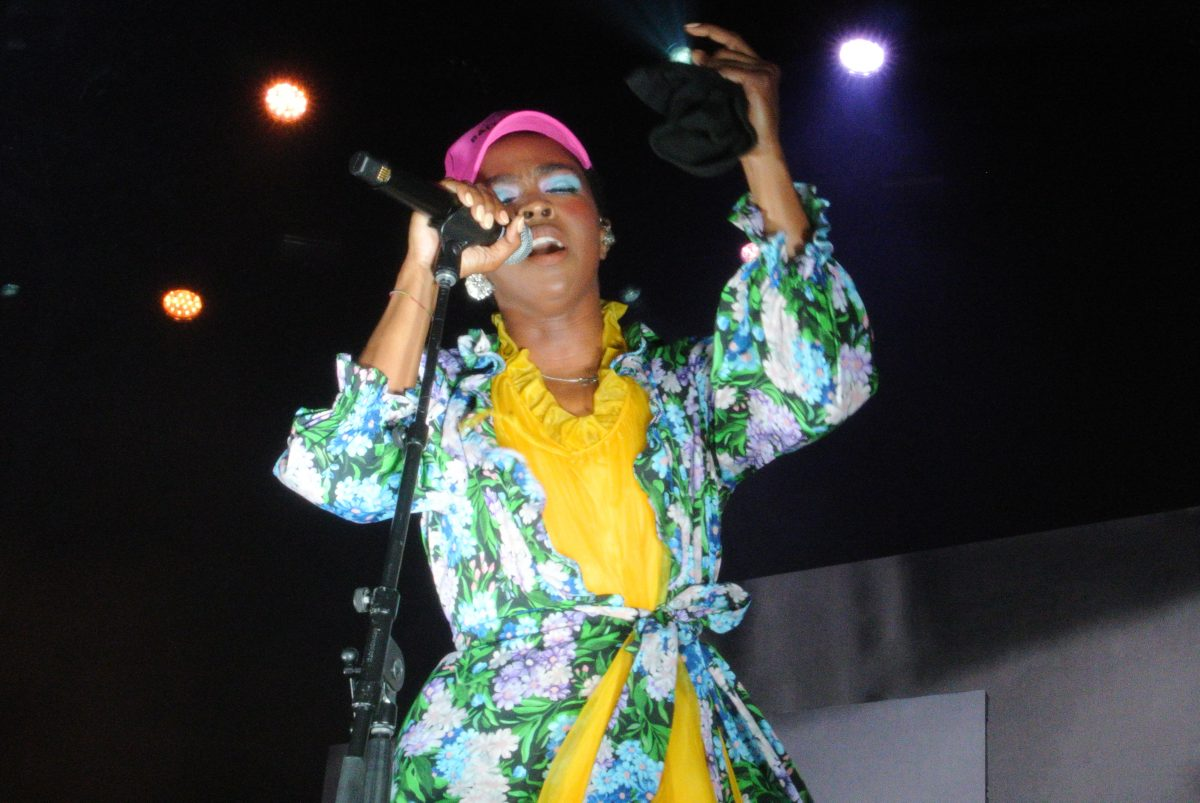 Lauryn Hill performs at Festival Pier, July 13, 2018.