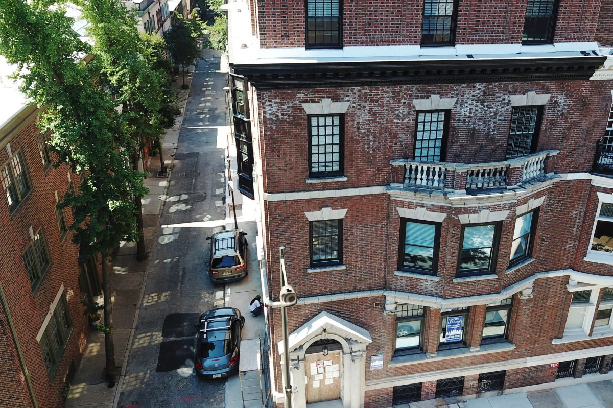 Two years after a devastating fire swept through a 19th century building on Locust Street in the Rittenhouse Square neighborhood, the building has been faithfully rebuilt.