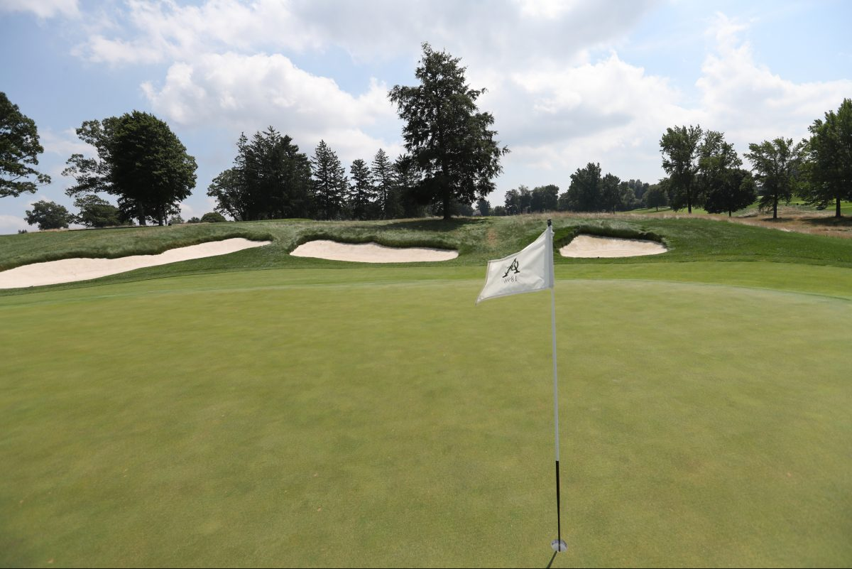 Aronimink Golf Club will host the PGA Tour's BMW Championship in September.